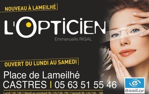 L'OPTICIENNE CASTRES